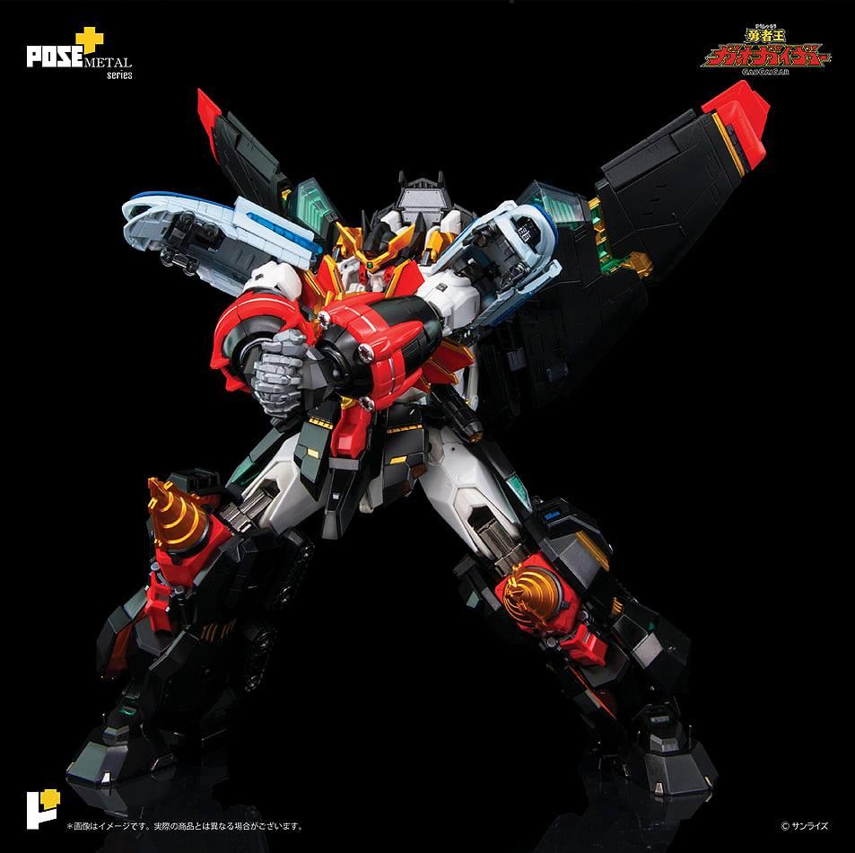 POSE+Metal Series GaoGaiGar 12